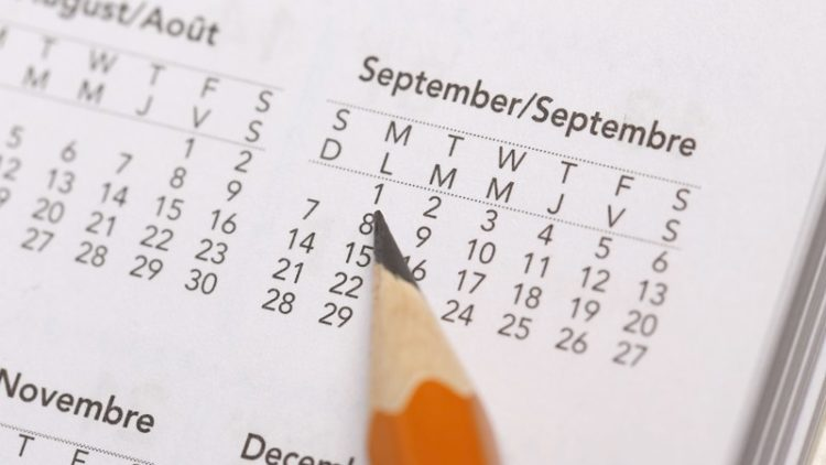 Tax Diary September/October 2020